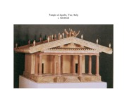 Etruscan Roman Architecture Study Images