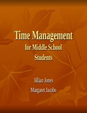 GS120 Time Management.ppt