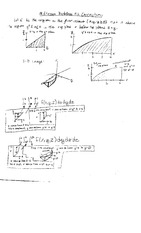 Quiz 2 Solution Fall 2010 on Multivariable Calculus