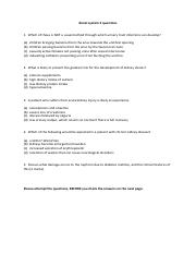 Renal 2 questions 2017