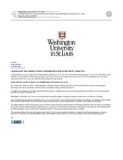 Local students named to Deans List at Washington University in St Louis