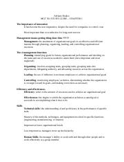 management ch. 1 outline study guide .doc
