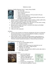 Lecture 1 notes - Late Roman Empire I