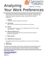 02+-+Analyzing+Your+Work+Preferences+Worksheet