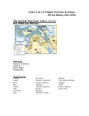 -Unit 2.1-2.2 Ancient Near East Chapter Overview and Essays (2)