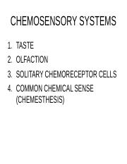 Chemical Senses I 2014.ppt
