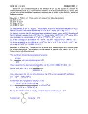 Prob Set _1 MCB 102 F13 ANS KEY