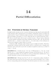 multivariable_14_Partial_Differentiation