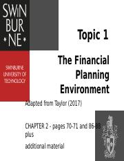 Topic 1_ The Financial Planning Environment(2).pptx