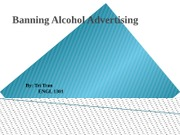 Banning Alcohol Advertising