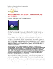 Is Tiger Woods Loss Averse - short version (Avoiding the Agony of a Bogey)