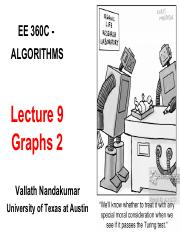 360C Lect 9 Graphs2_Notes