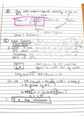 CHEM 122 Fall 2014 Root Means Square Lecture Notes