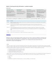 Week 2_ Sourcing and using information - academic integrity v2.docx