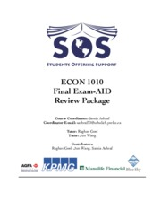ECON 1010 STUDY PACKAGE (NOTES  FROM 20-30).pdf