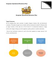 Operational Business Plan
