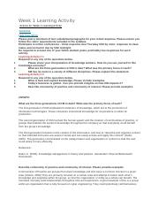Week 1-8 Discussion .docx