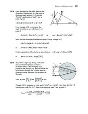 27_Chapter 22 HomeworkCH22 Reflection and Refraction of Light