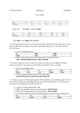 Homework solution 3 statistics for business
