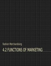 2. Functions of Marketing PPT
