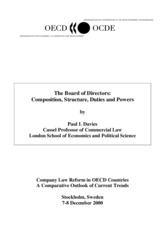 The Board of Directors: Composition, Structure, Duties and Powers