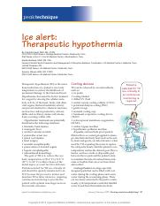 Ice alert Therapeutic hypothermia.pdf