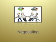 14-10 Negotiating for posting