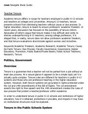 Teacher Tenure Research Paper Starter - eNotes.pdf