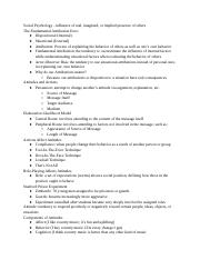 Social_Psychology_Notes