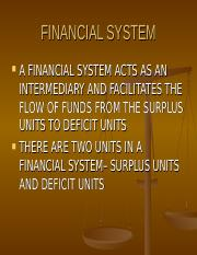 8. Indian Financial System