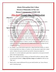 WHO AM I Speech Guildelines .pdf