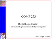 COMP 273 Lecture 4 - Numbers + Info