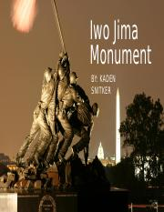 Iwo Jima Monument [Recovered]