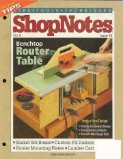 Shopnotes 45 vol 08 bench top router table this is the end of the preview sign up to access the rest of the document greentooth Image collections