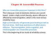 Chapter 10-Irreversible Processess