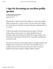 Pocket_ 7 tips for becoming an excellent public speaker