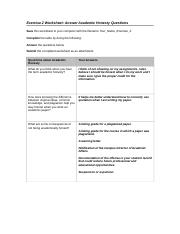 academic honesty worksheet Academic integrity goes beyond the policing of university assessment and is part of a graduate's formation as a professional, underpinning their behaviour in the workplace, and reflecting on.