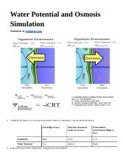 Water Potential and Osmosis Simulation.docx