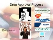 Drug Approval Process