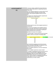 Assignment 1 with solutions