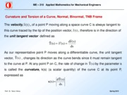 Curvature and Torsion