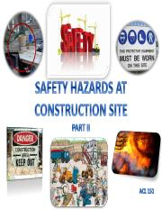 5.Safety Hazards at Construction Site Part II 151
