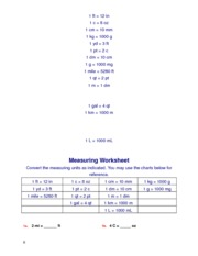 Measuring_and_conversions_Worksheet