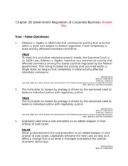 Chapter 28 Government Regulation