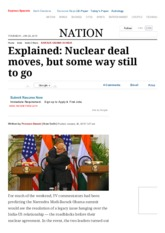 Explained_ Nuclear deal moves, but some way still to go _ The Indian Express