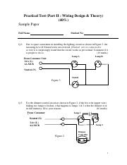 Sample_paper_Practical Test (Part II  Wiring Design & Theory - 40%)(1).pdf