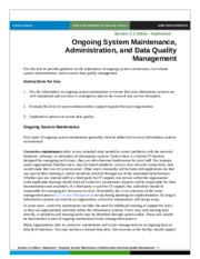 2.1Ongoing_System_Maintenance_Admin_Data_Quality_Mgt