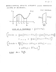Math 242-Sec. 6.2 Lecture notes