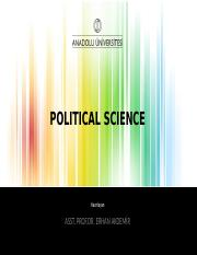 POLITICAL SCIENCE 2