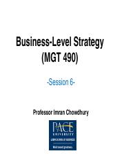 MGT490 chapter 5